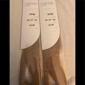 Hairtalk blonde Hair extensions